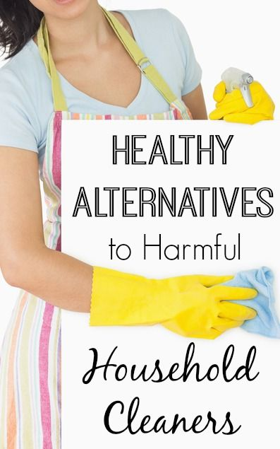 Healthy Alternatives to Harmful Household Cleaners ~ http://healthpositiveinfo.com/harmful-household-cleaners-alternatives.html