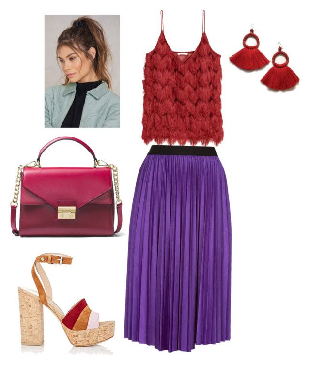 """""""Style 8"""" by krisstik on Polyvore featuring мода, Pinko, Gianvito Rossi, MICHAEL Michael Kors и NA-KD"""