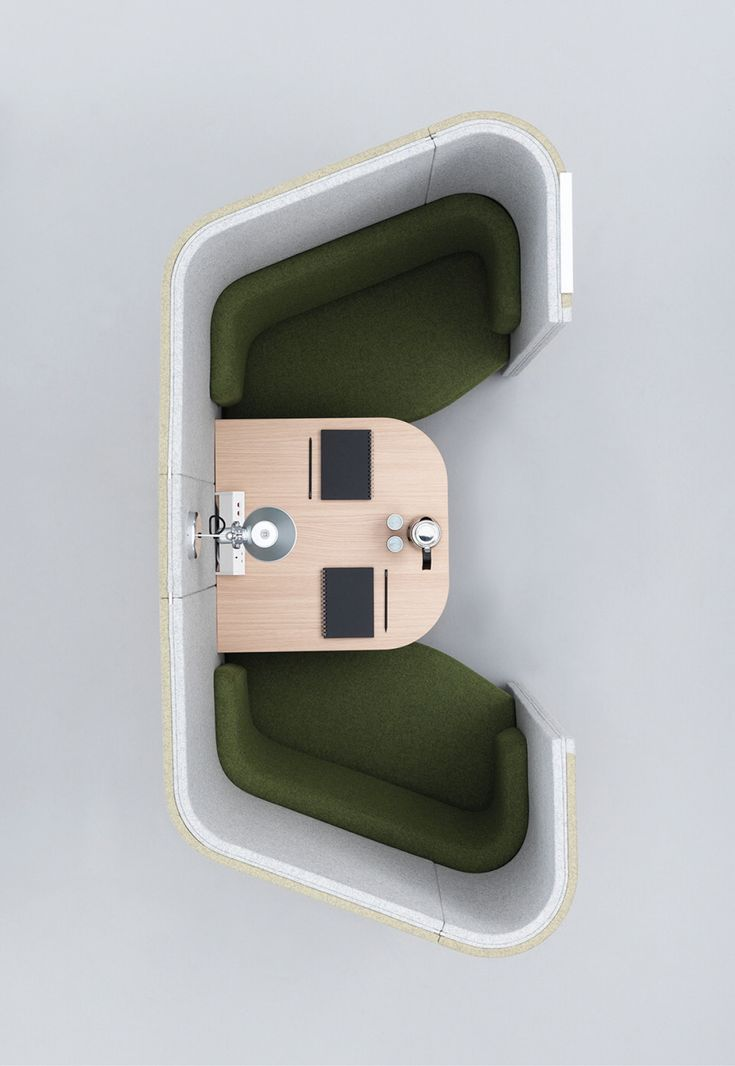 Haven Pods nestle and tessellate to maximise available space, allowing the creation of a community of environments and destinations. Haven Pods are ideal for either an individual within a desk based environment looking for a space to focus or for teams to gather for impromptu meetings