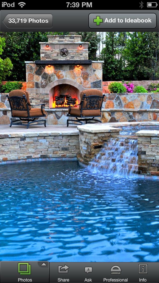 Hot Tub Trickling into Pool