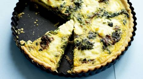 Fenugreek and ricotta tart recipe : SBS Food | Recetas | Pinterest ...