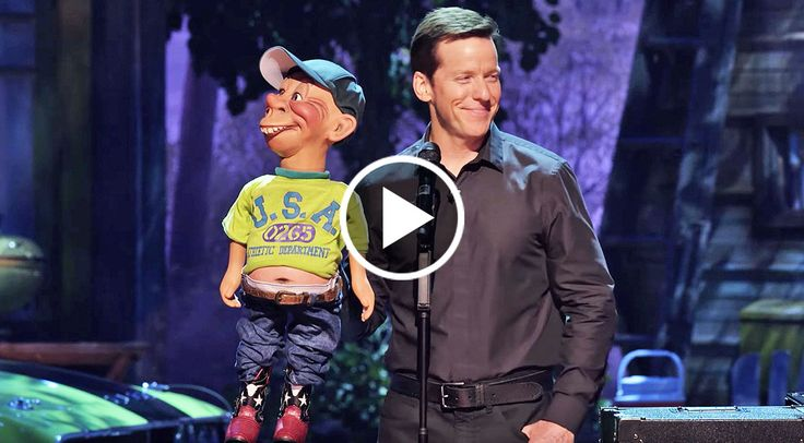 """If a puppet could turn red in the face, Bubba J would have been red as a beet! America's favorite redneckwas overtaken with embarrassment after epically failing a joke on stage with comedian Jeff Dunham at the 2015 comedy special """"Unhinged in Hollywood.""""  While attemptingtotell a joke about the"""