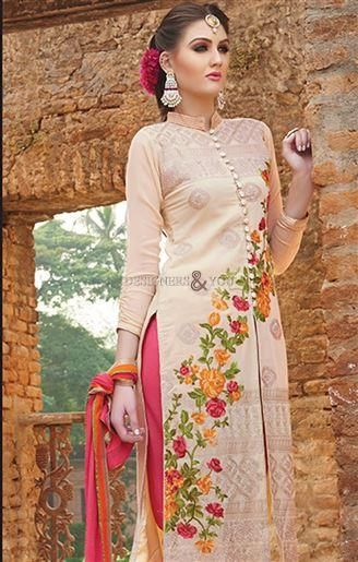Aline designer pakistani salwar kameez straight cut ladies suit Visit: http://www.designersandyou.com/dresses/pakistani-dresses #PakistaniTradition #Pakistani Wear #PakistaniWear #GoodLooking #Latest #Designer #Colorful #Embroidered #Awesome