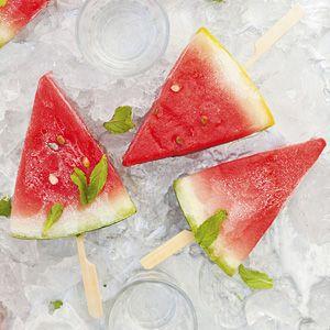 Recept - Bevroren meloen met munt - Allerhande