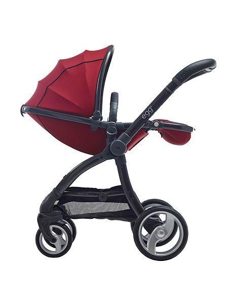 Egg Stroller, Berry http://www.parentideal.co.uk/house-of-fraser--pushchairs-prams.html