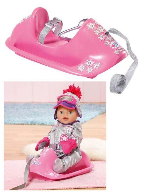 Toys R Us Baby Annabell Bedroom Set: Снежные САНКИ для куклы BABY Born, ZAPF CREATION 818190