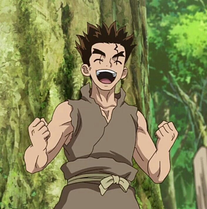 Dr. Stone || Taiju Oki | Stone, Stone wallpaper, Anime