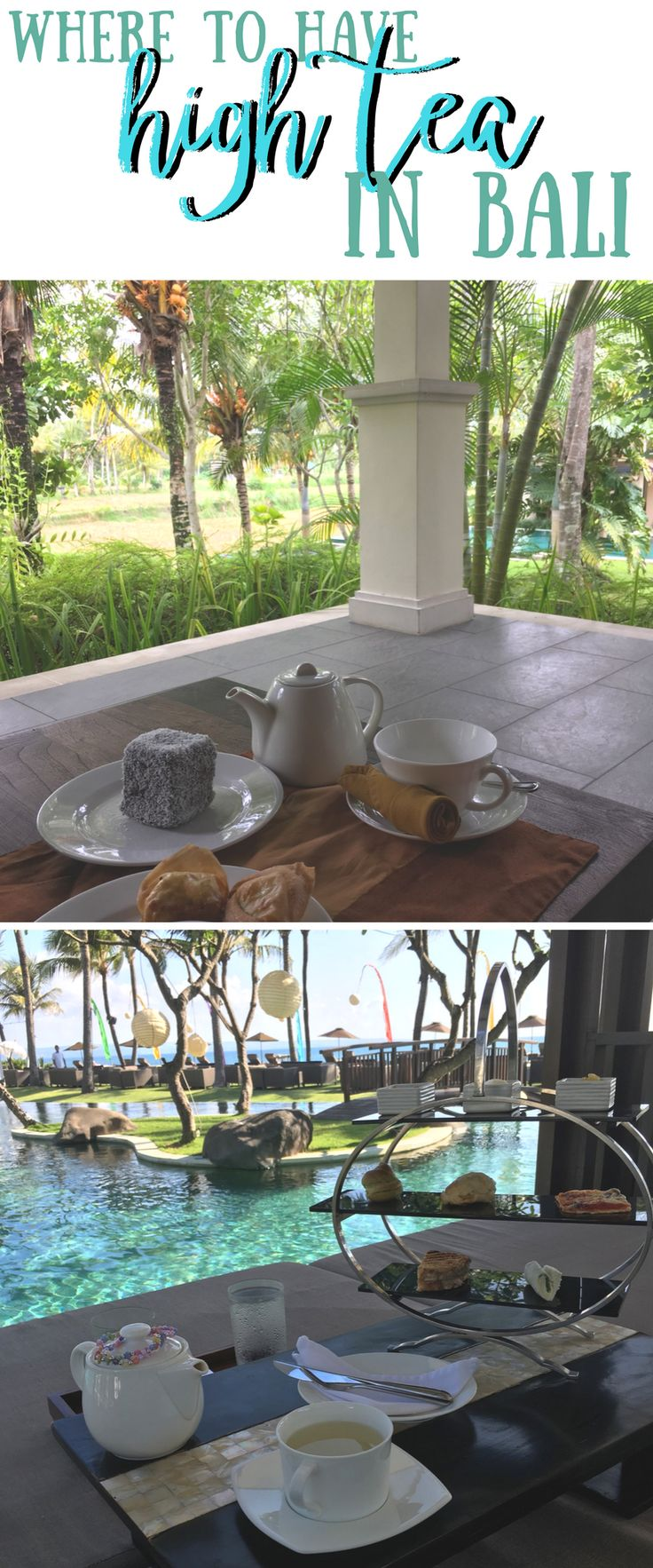 Looking for a unique experience in Bali? Why not high or afternoon tea? #hightea #afternoontea #bali #balitea #balieats