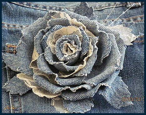 Roses of Denim