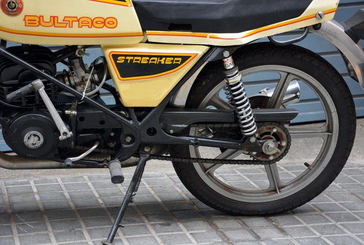 134.12 Bultaco Streaker 125cc. 1979 - Portal compra venta vehículos clásicos