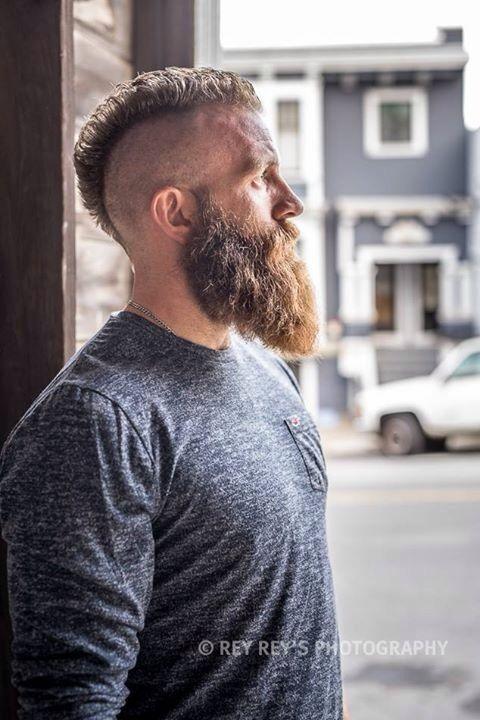 Cool Beard Dude Beard Styles Beard No Mustache Badass