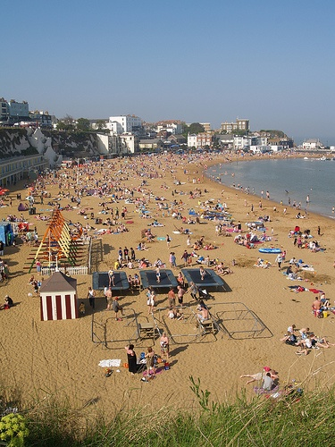 Broadstairs beach. Can't wait for nice weather to go back to this beach.