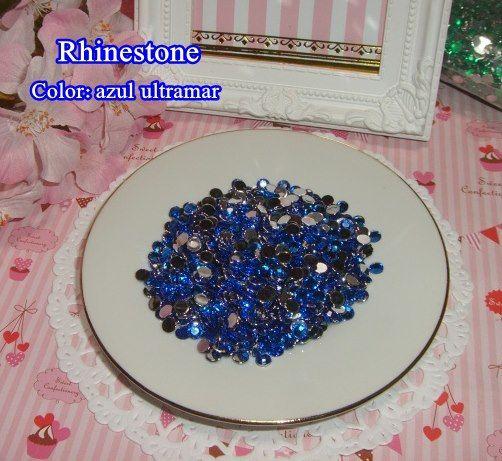 Diamantes de acrílico azul ultramar