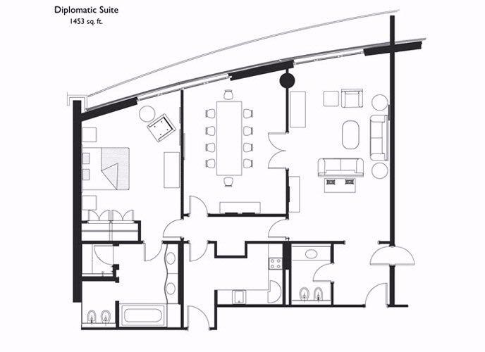 14 best cad images on pinterest floor plans hotel floor for Rosewood house plan