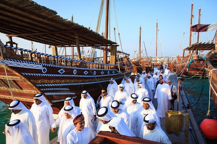 Qatar | Doha Dhow Festival II. view on Fb https://www.facebook.com/SinbadsQatarPocketGuide  credit: Omar Chatriwala