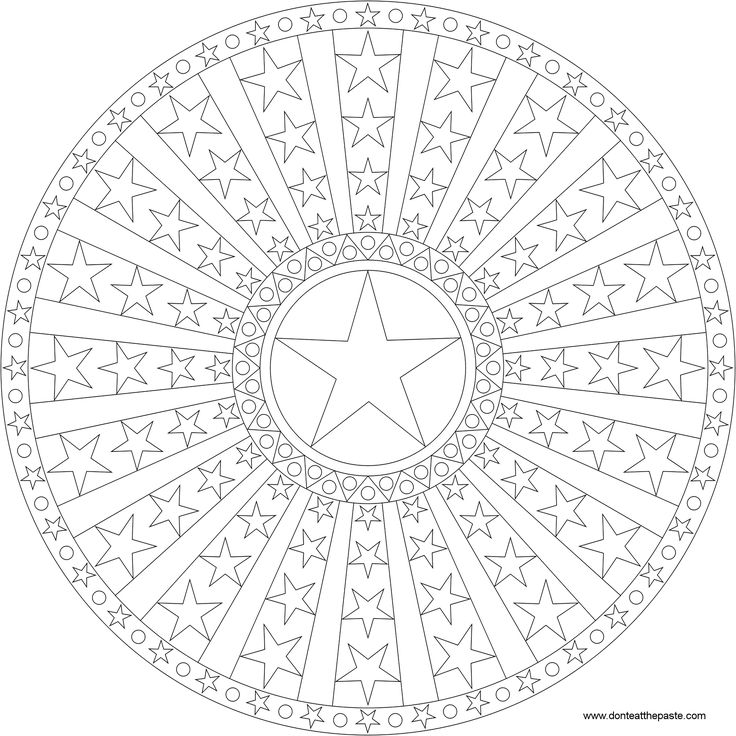 170 best Mandala boyama images on Pinterest | Mandalas for kids ...
