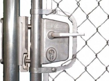Winning Chain Link Double Gate Latch And Chain Link Gate