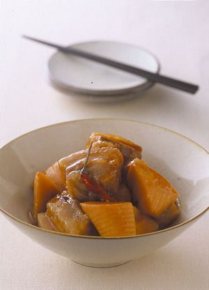 豚肉とたけのこの中華風角煮 | 田口成子さんのレシピ【オレンジページ ...
