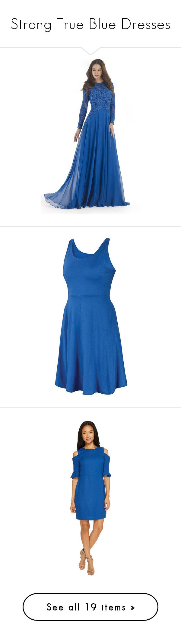 """""""Strong True Blue Dresses"""" by tegan-b-riley on Polyvore featuring dresses, gowns, formal dresses, teal, long-sleeve lace dress, long sleeve gowns, blue lace dress, long evening dresses, long sleeve formal gowns and lazuli"""
