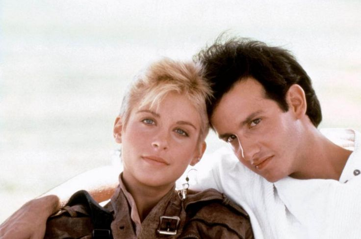 Helen Slater and Keith Gordon in The Legend Of Billie Jean.