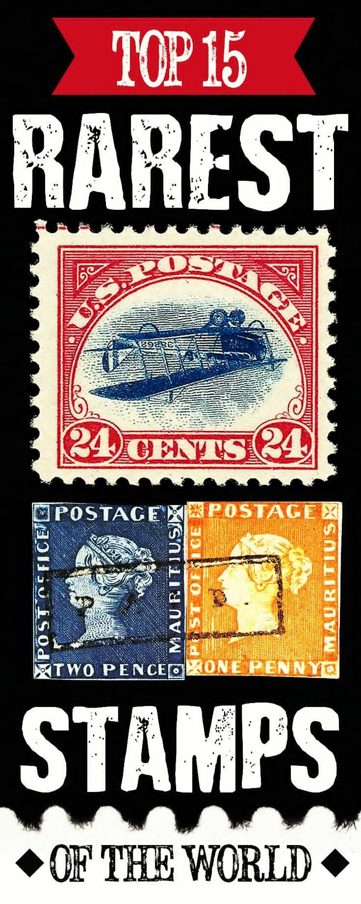 The Most Expensive Stamps From Around The World Rare