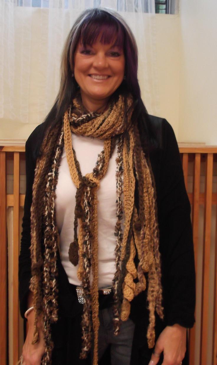 My spaggggghettttti scarf design!!!!