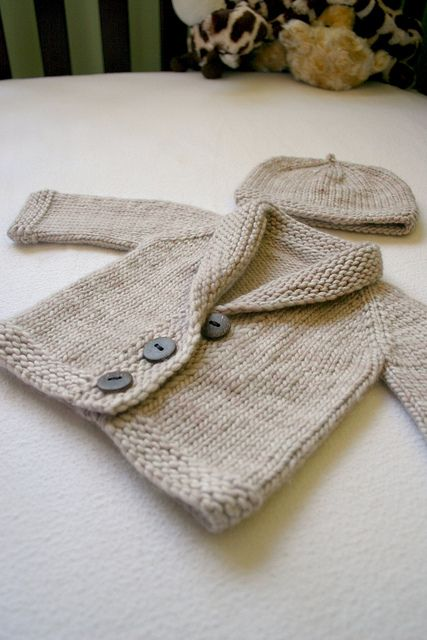 Baby Sophisticate - Free by Linden Down | malabrigo Worsted in Simply Taupe