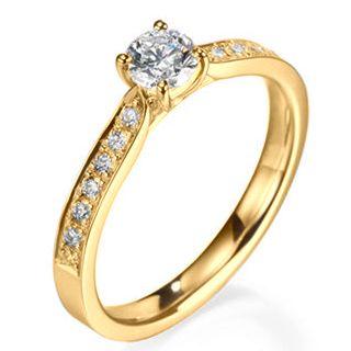 Anel de Noivado Diamantes, Aneís de Noivado :: JOIAS & ALIANÇAS EM OURO   VERSE Joaillerie   Descubra o real significado de ser único e exclusivo.