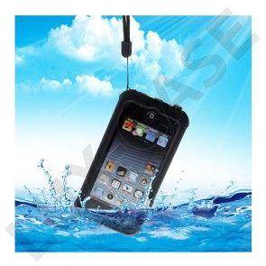 REDPEPPER Vandtæt etui til iPod Touch 6 med kickstand - Sort