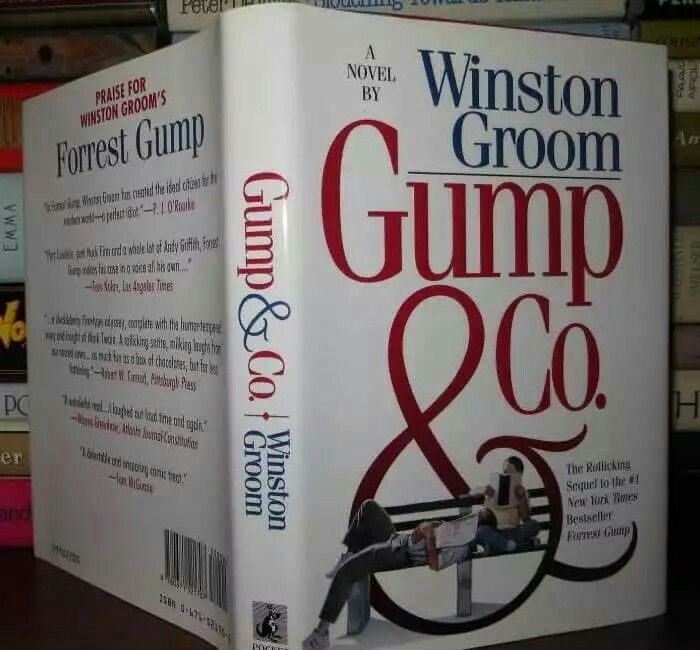After the success story of the Forrest Gump movie, the writer of Forrest Gump novel decided to write another novel that focusas a result of the movie. The novel was called Gump & Co.