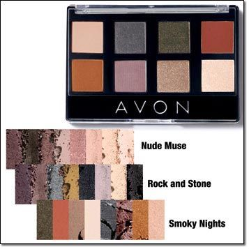 Avon True Color 8-in-1 Eyeshadow Palette: One Versatile Palette! Gorgeous shades of eyeshadow mix and match beautifully to create your favorite signature looks. Regularly $10.99 shop online at www.youravon.com/my1724 #AVON #EYESHADOW #EYEMAKEUP #SHOPONLINE #PRODUCTS