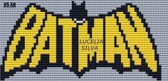 "Delicate Corner: Charts Cross Stitch ""Batman"""