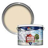 Dulux Weathershield Gardenia Cream Masonry Paint 10L | Departments | DIY at B&Q