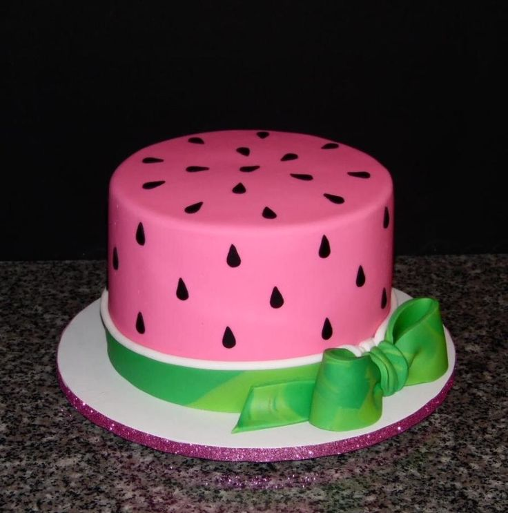 Watermelon Love - Cake by Sweets By Monica