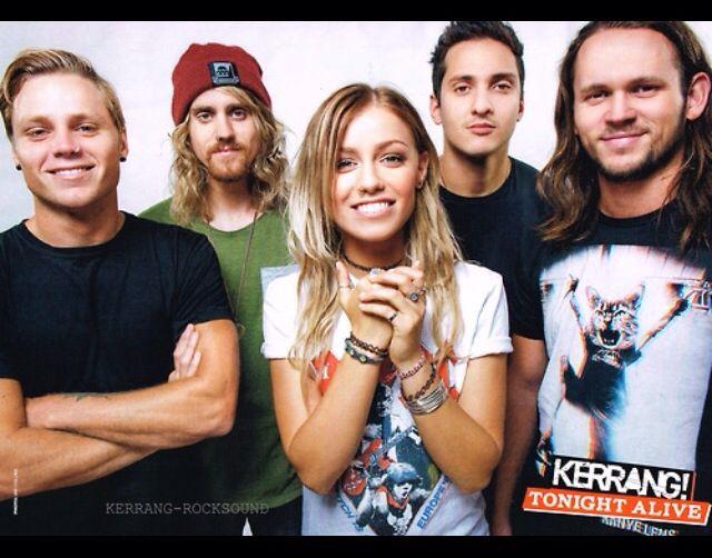Tonight Alive in Kerrang! Magazine