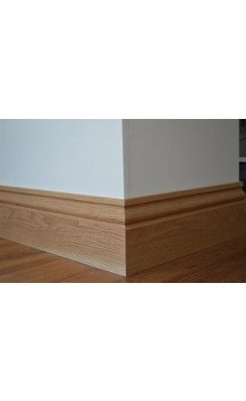 Ogee Solid Oak Skirting Boards - 3m