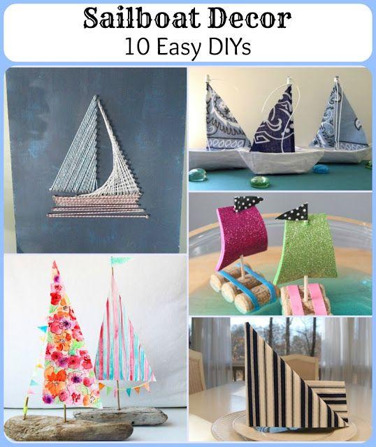 Diy Nautical Decor Ideas: Best 25+ Nautical Craft Ideas On Pinterest