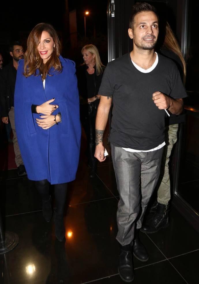 Despina Vandi with her partner (Demis Nikolaidis) - Greek Singer