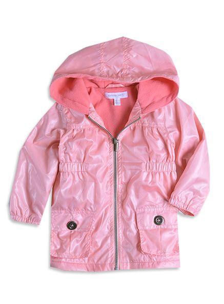 Pumpkin Patch - jackets  - wetlook lightweight anorak - W3TG40005 - soft peach - 12-18mths to 6