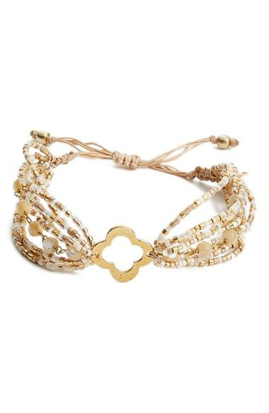 Chan Luu Multistrand Beaded Bracelet available at #Nordstrom