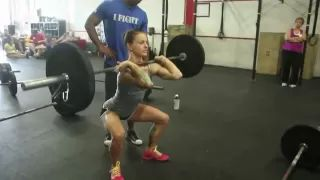 Crossfit Thruster Demo - YouTube