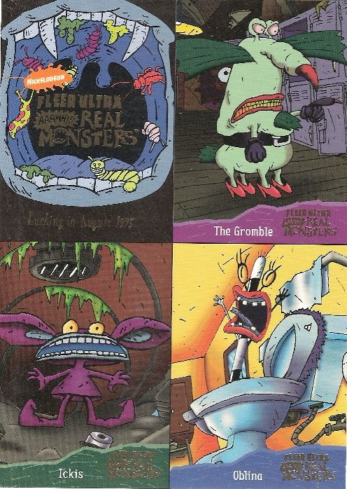 Real Monsters...I used to watch this all the time!