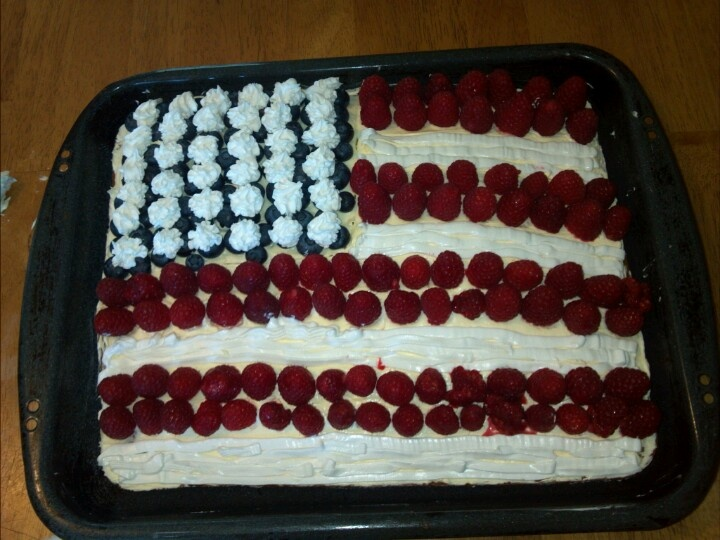 ... candy topped flag cake recipe dishmaps candy topped flag cake recipe