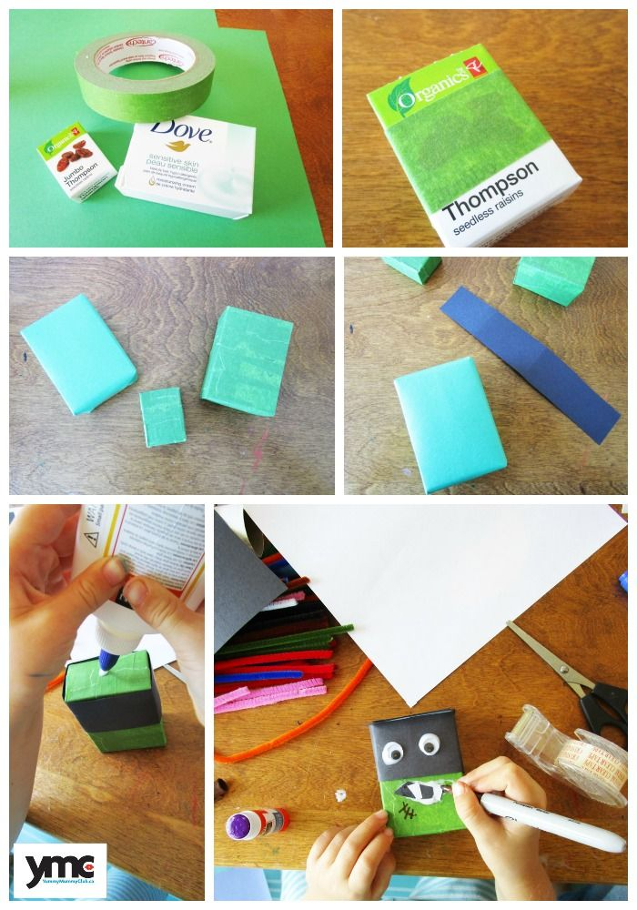 6 boo tiful halloween crafts for your kids - Recycled Halloween Decorations