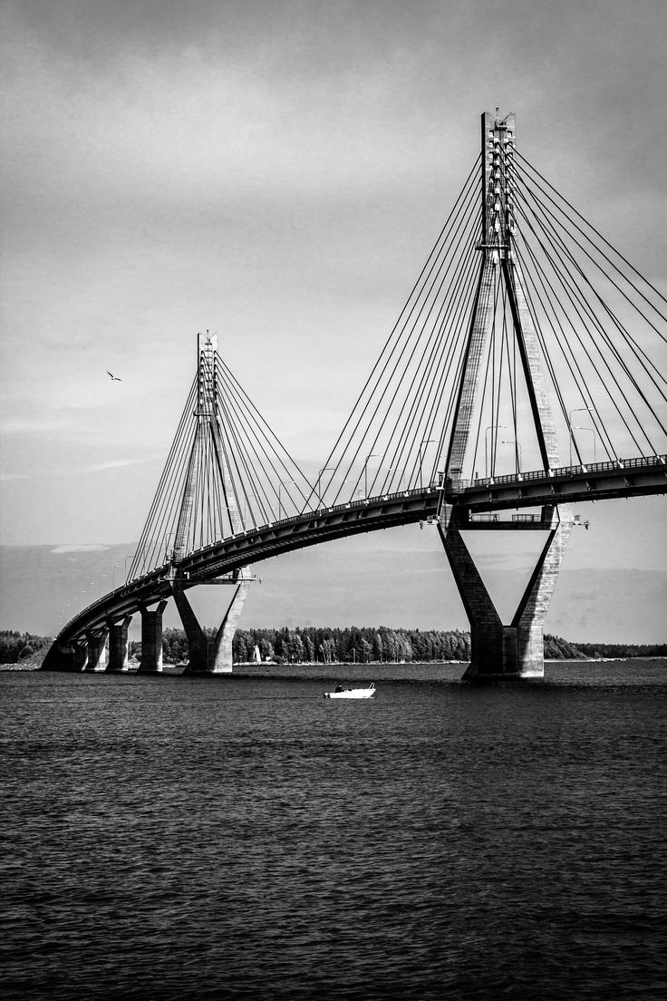 The Replot Bridge, Finland