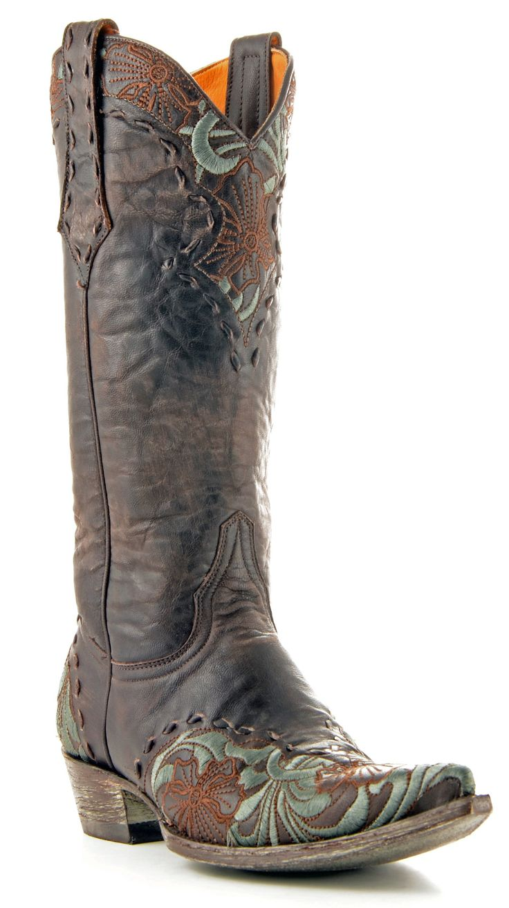 Womens Old Gringo Erin Boots Chocolate #L640-1