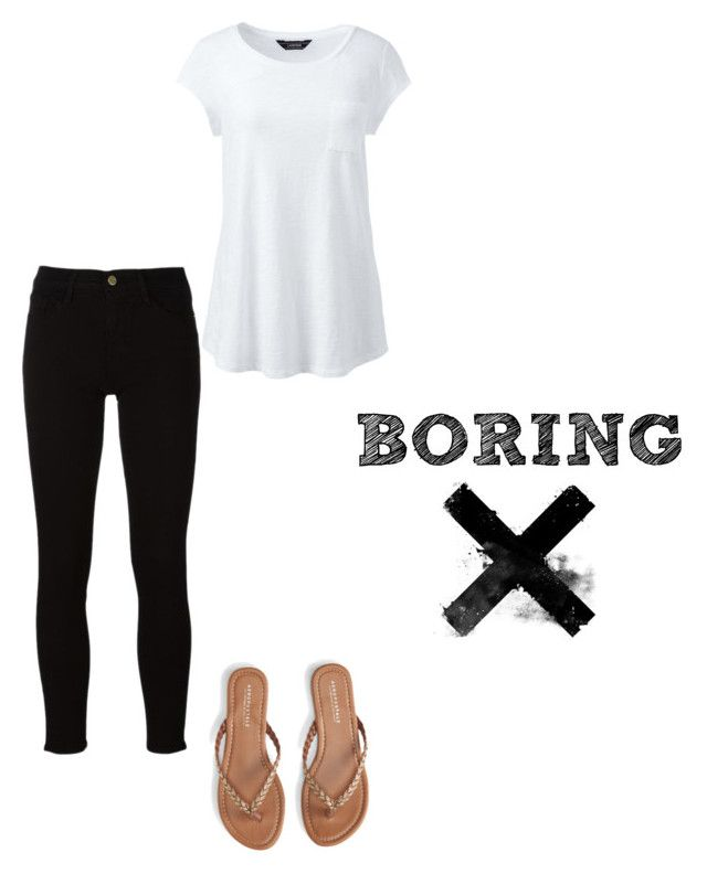 """""""Untitled #8"""" by abeer111 on Polyvore featuring Aéropostale, Frame and Lands' End"""