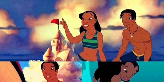 Nani and David   Disney Couples   Pinterest   Disney ...