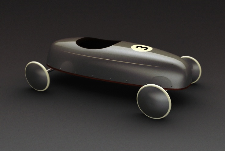 IF I WERE A PRODUCT:  Soap box racer