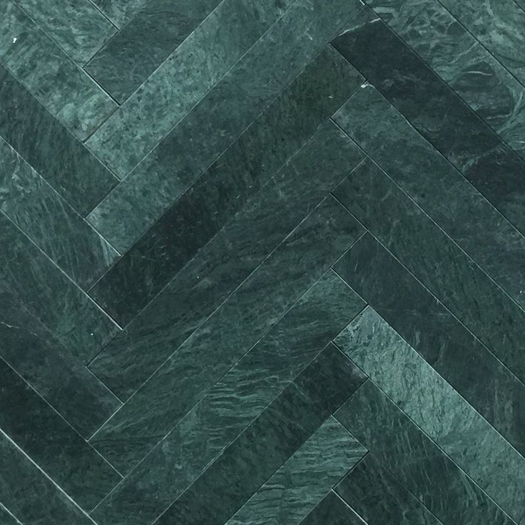 Grøn marmor sildeben 6x40x1 cm